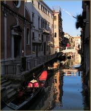 Les Gondoles du rio de San Felice