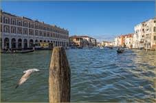 Les Fabbriche Nove sur le Grand Canal de Venise