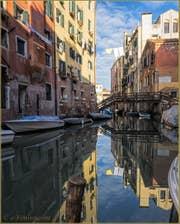 Le rio del Gheto et le Pont di Ghetto Nuovissimo à Venise