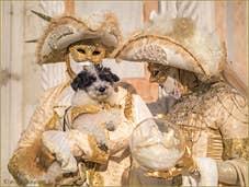 Carnaval de Venise, avec Toutou !