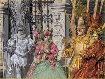 Carnaval de Venise : en plumes et paillettes