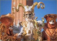 Carnaval de Venise : en Bouc et en Cornes