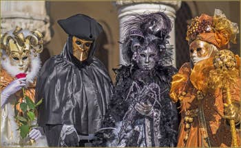 Carnaval de Venise : Mystère et Beauté