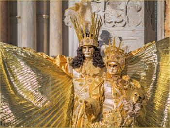 Carnaval de Venise : Dans l'Or de Saint-Marc