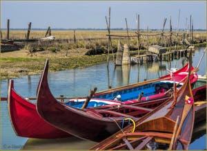 La Lagune Nord de Venise après l'île de Santa Cristina.