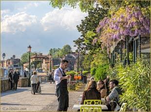Dégustation de Vins à Venise.
