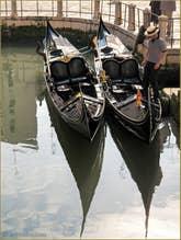Gondoles sur le Rio de la Madalena