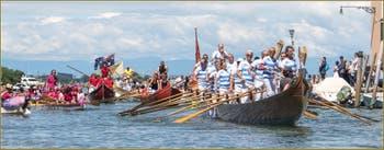 Vogalonga : L'arrivée à Venise sur le Canal de Cannaregio.
