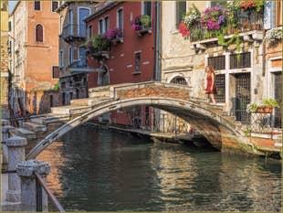 Le Pont Chiodo sur le Rio de San Felice, dans le Sestier du Cannaregio à Venise.