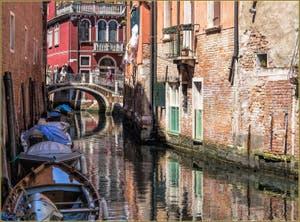 Le Rio de Malpaga et le Pont degli Ognissanti, dans le Sestier du Dorsoduro à Venise.