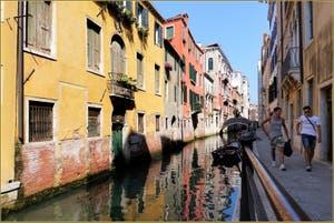 Le Rio San Giovanni Laterano, dans le Sestier du Castello à Venise.