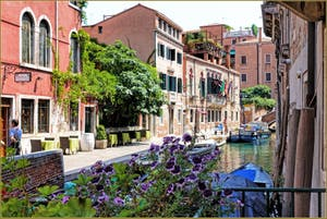 Le Rio de la Frescada San Rocco et la Fondamenta del Forner, dans le Sestier de San Polo à Venise.