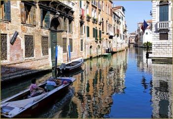 Le Rio de Santa Marina et le Palazzo Pisani, dans le Sestier du Cannaregio à Venise.