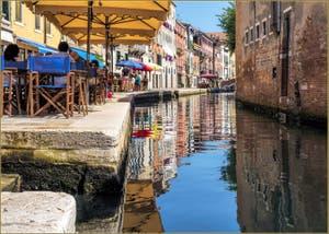 La Belle Vie, Fondamenta de la Misericordia, le long du Rio du même nom, dans le Sestier du Cannaregio à Venise.