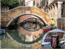 Les Yeux des Ponts Widmann et Pasqualigo à Venise