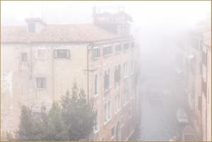 Joli Brouillard du Matin sur Venise.