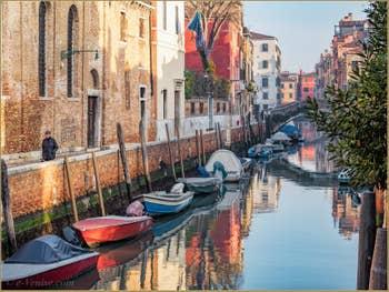 Le Rio et la Fondamenta Santa Caterina