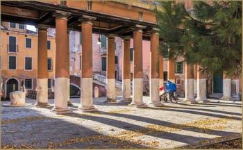 Chez le commissaire Brunetti, à San Francesco della Vigna dans le Castello à Venise.