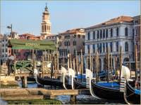 Gondoles Riva del Vin à Venise