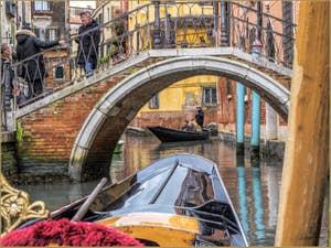 Le pont del Diavolo et le Rio de San Provolo, dans le Sestier du Castello à Venise.