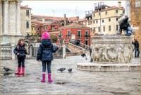Petits Vénitiens à San Giovanni e Paolo