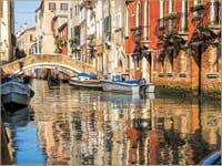 Reflets Rio de San Felice à Venise