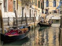 Sandoli sur le Rio de San Prolovo à l'Osmarin à Venise