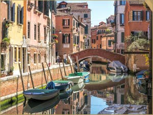L'été Fondamenta Sant'Andrea, dans le Cannaregio à Venise.