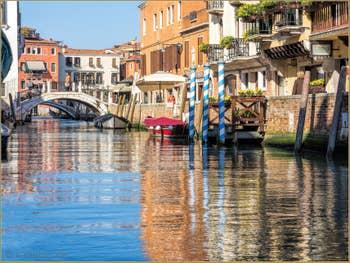 La Fondamenta Bragadin et le Rio San Vio dans le Dorsoduro à Venise.