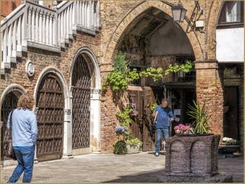 Spritz Campiello del Remer à Venise, dans le Cannaregio à Venise.