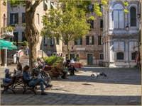 Le Printemps à Santa Maria Nova à Venise
