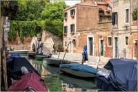 Le Rio del Trapolin et le pont Moro à Venise
