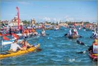 Vogalonga de Venise 7000 participants à Venise