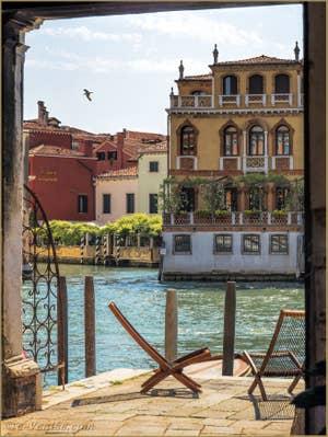 La Casa Mainetta sur le Grand Canal à Venise.