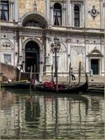 Gondole Scuola Grande San Marco à Venise