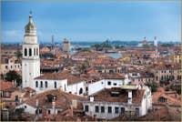 Campanile de l'église Sant'Antonin à Venise