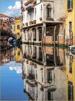 Le Miroir du Rio Priuli Santa Sofia à Venise