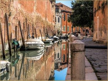 L'été Rio de le Gorne, dans le Castello à Venise.