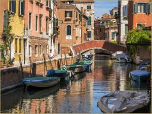 La Venise des Vénitiens Fondamenta Sant'Andrea, dans le Cannaregio à Venise.