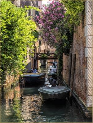 Le Charme du Rio de la Racheta, dans le Cannaregio à Venise.