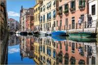 Couleurs et reflets Rio Marin à Venise