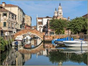 Rio di San Nicolo' Mendicoli, dans le Dorsoduro à Venise.
