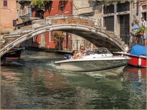 Pont Chiodo Rio de San Felice, dans le Cannaregio à Venise.