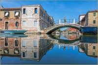 Le Rio et le pont de le Terese à Venise