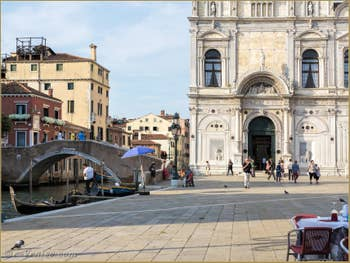 La Scuola Grande San Marco Campo San Giovanni e Paolo, dans le Castello à Venise.