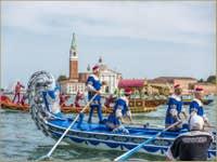 Le Cortège Historique de la Regata Storica à Saint-Marc à Venise