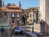 Campo Castelforte Rio de la Frescada San Rocco à Venise