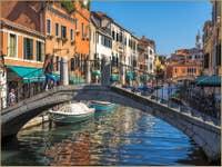 Pont et Rio del Gaffaro à Venise