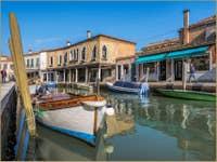 Le Rio dei Vetrai sur l'île de Murano à Venise