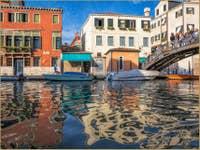 Reflets Impressionistes Rio de San Girolamo à Venise
